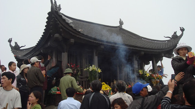 Yen Tu Spring Festival in Quang Ninh 2018