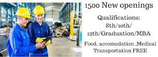 Food Company Urgent Hiring Job Vacancy For Fresher 5th to 10th Pass 12th Pass or ITI All Trades Candidates in Jaipur, Rajasthan