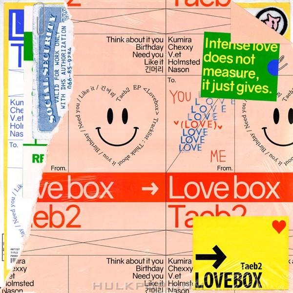 Taeb2 – Love Box – EP