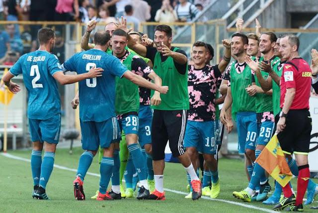 الدوري الإيطالي: يوفنتوس يفتتح السيري A بفوز على بارما بـ1ـ0