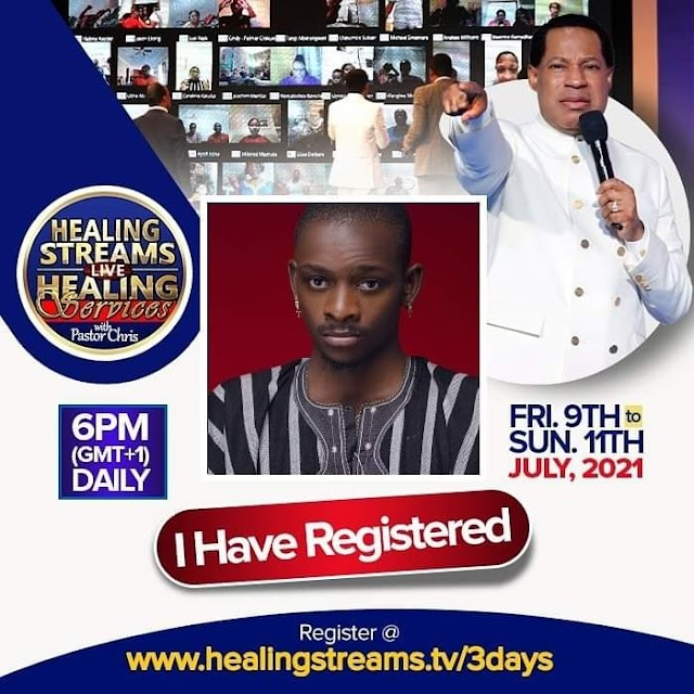 Register for Christ Embassy's Online Healing Service  9th july - 11th july - Register now!