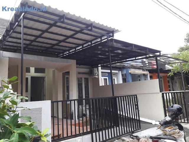Mezzanine, Ranjang Susun, Kanopi, dan Teralis Pengaman pesanan Bu Lian di BSD Tangerang