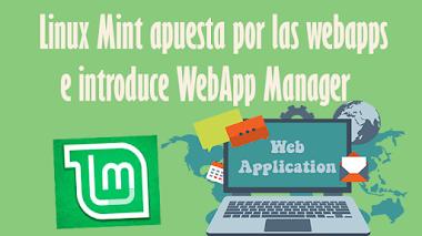 Linux Mint apuesta por las webapps e introduce WebApp Manager