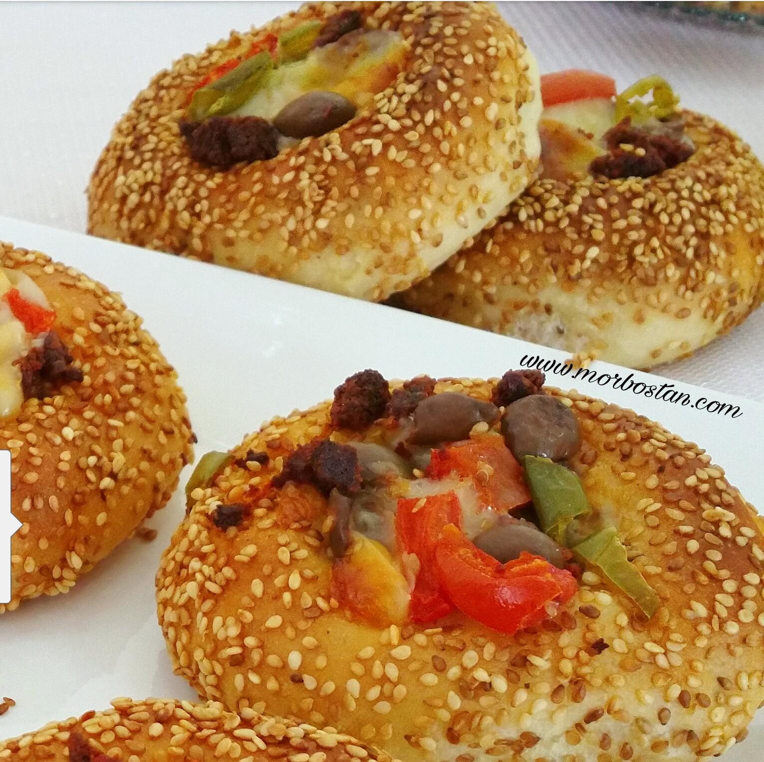 Kapalı Simit Pizzası Tarifi