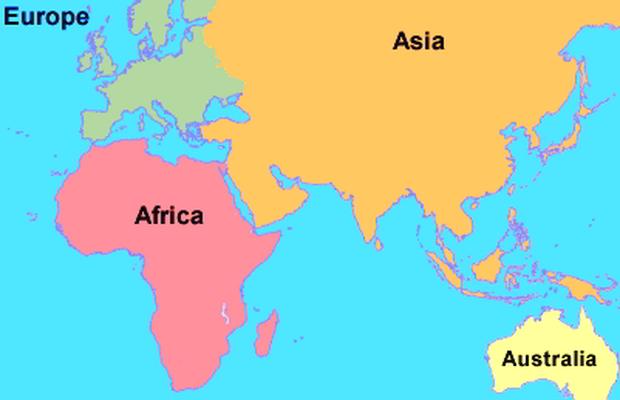 letak astronomis, geografis, dan geologis benua afrika