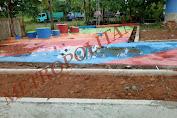 Proyek Pembagunan Taman Mangkrak, Lokasi Malah di Kantor Kecamatan