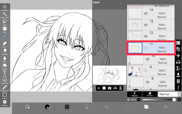 How to Save the Time of Coloring in ibisPaint X