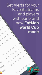 FotMob World Cup 2018 Unlocked APK