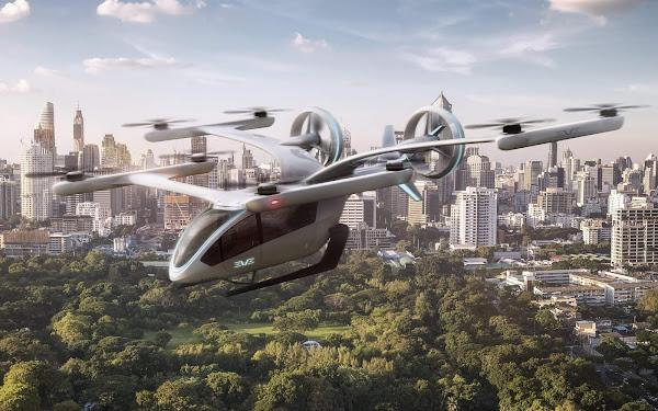 Embraer eVTOL - carro voador e elétrico