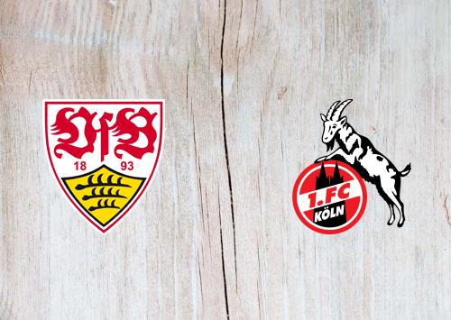 Stuttgart vs Köln -Highlights 23 October 2020