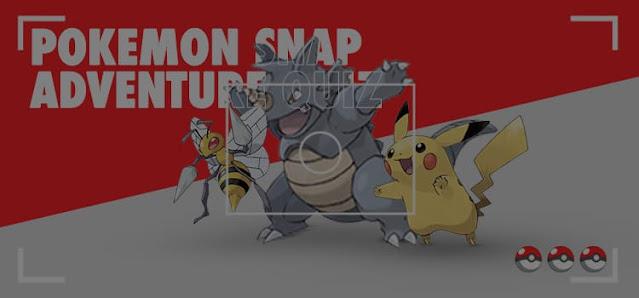 Pokemon Snap Adventure Quiz Answers 100% Score Be Quizzed