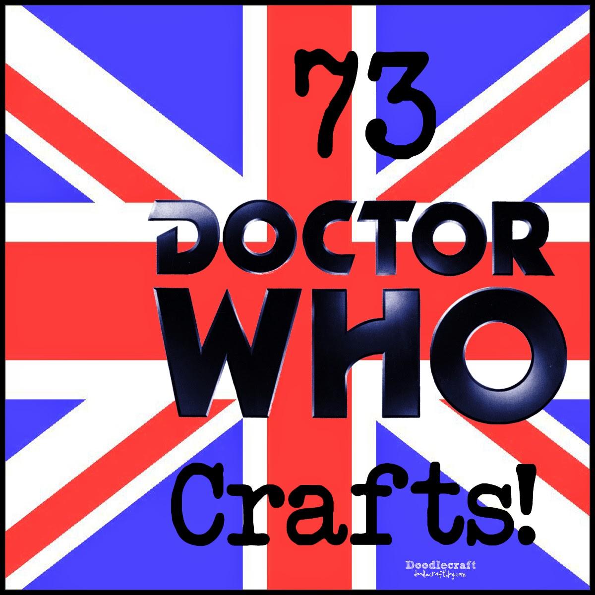 doodlecraft 73 doctor who crafts