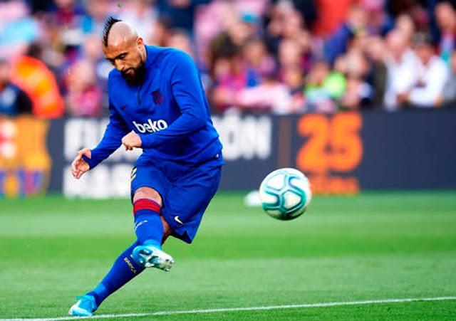 Barcelona nói rõ tương lai của Vidal