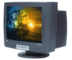 Cathode-Ray Tube Monitor