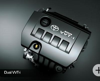 Teknologi Mesin Toyota Altis