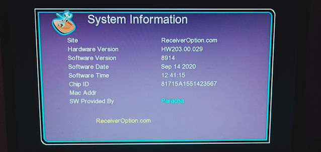 GX6605S HW203.00.029 HD RECEIVER NEW SOFTWARE WITH NEW THEME