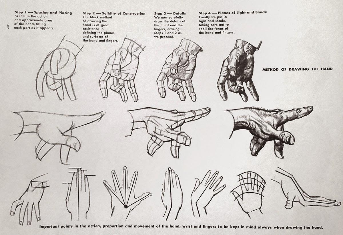 Creative Concepts: Week Twelve: Drawing Hands, Part 2