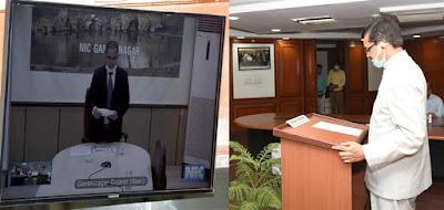 Eminent Banker Suresh N. Patel takes oath as Vigilance Commissioner