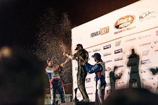 James Deane and Piotr Więcek win Formula Drift Canada