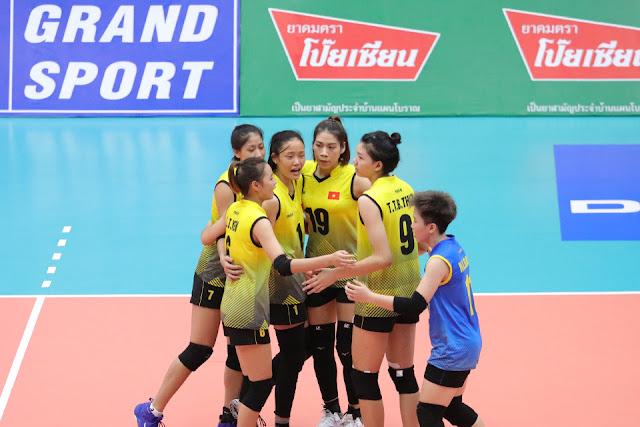 ĐTQG nữ sẽ thi đấu và tập huấn tại Thái Lan khoảng 1 tháng