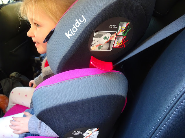 Kiddy Smartfix carseat