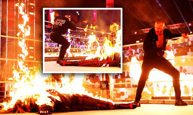 WWE TLC results and grades: Randy Orton burns The Fiend alive