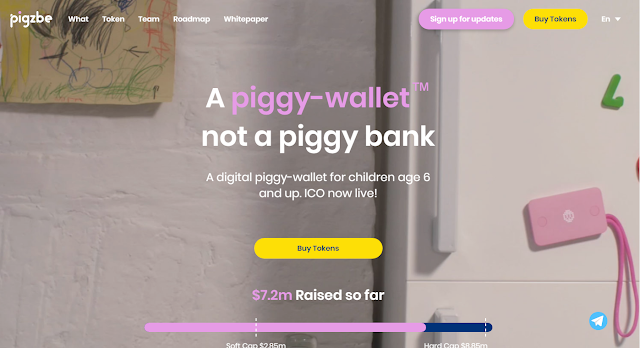 Pigzbe teaching children financial literacy