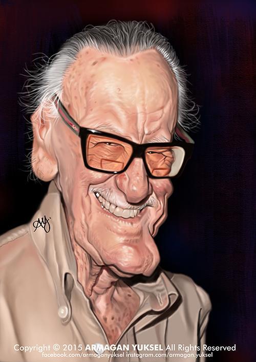 Stan Lee por Armagan Yuksel