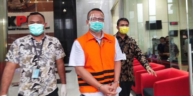 Kasus Suap Ekspor Benur, Edhy Prabowo: Sebagai Komandan Saya Bertanggungjawab Atas Kesalahan Anak Buah