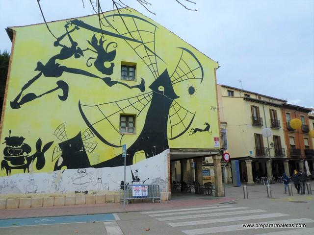 murales en Alcalá de Henares