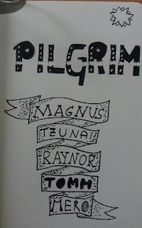 Lettering zu Pilgrim