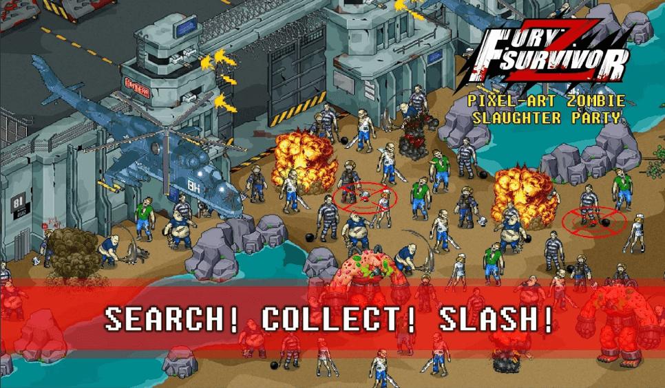 ملخص حول غضب الناجين:Fury Survivor: Pixel Z