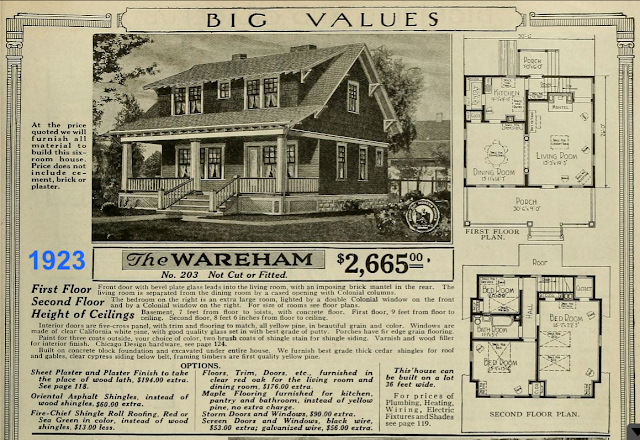 Sears Wareham from the 1923 catalog