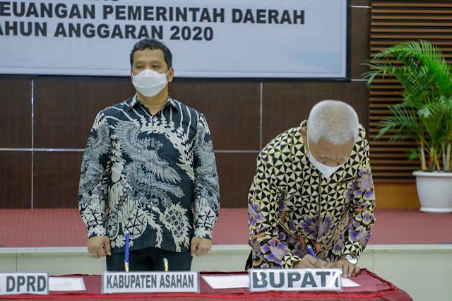 Terima Opini WTP Empat Tahun Berturut-Turut, Bupati Asahan : Terima Kasih Kepada BPK Perwakilan Provinsi Sumut