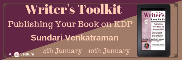 Schedule: Publishing Your Book on KDP by Sundari Venkatraman