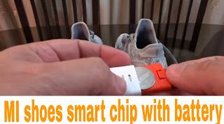 MI smart shoes