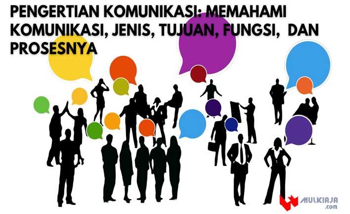 Pengertian Komunikasi: Memahami Komunikasi, Jenis, Tujuan, Fungsi,  dan Prosesnya