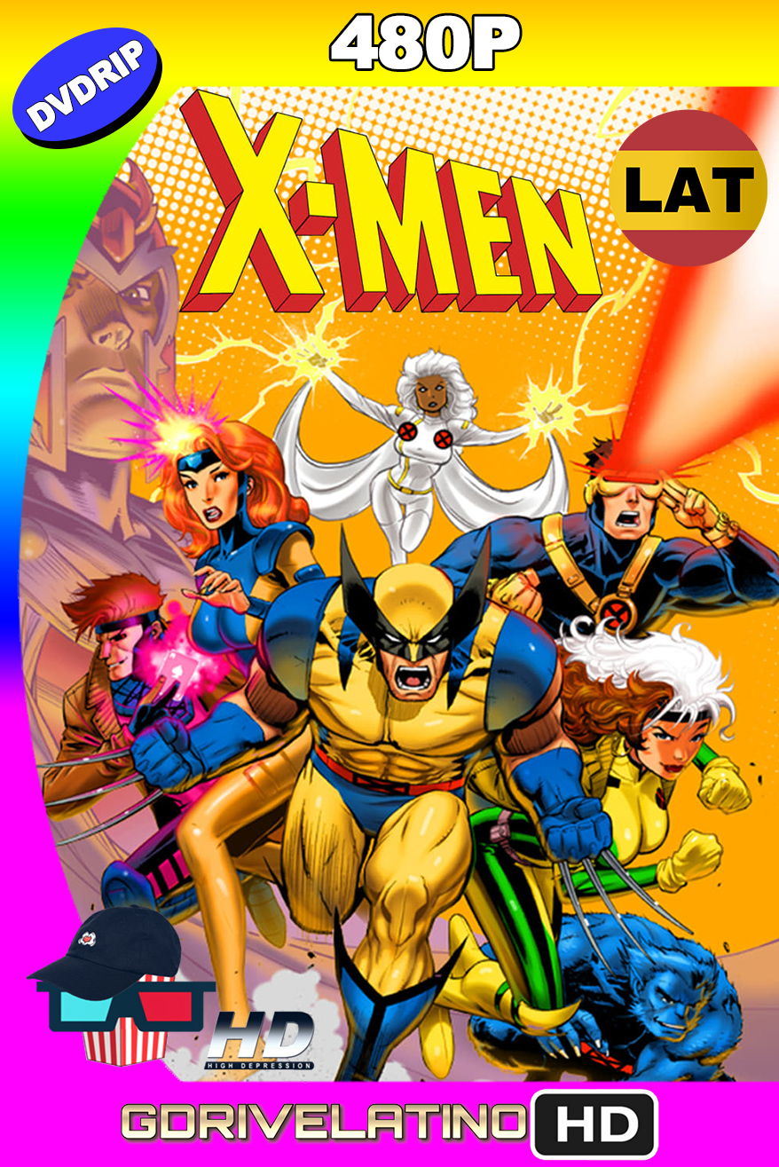 X-Men (1992-1997) Temporadas (1,2,3,4,5) DVDRip 480p (Latino-Inglés) MKV