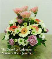 gerbera vas bunga meja
