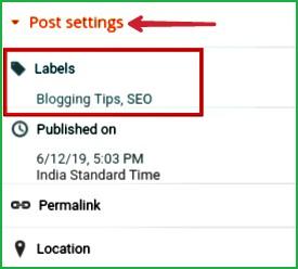 Labels-for-Blogger
