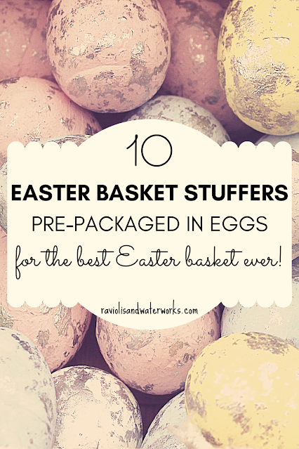 easter gifts that are toys stuffed in eggs