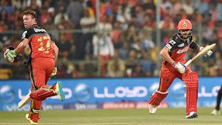 AB de Villiers 82 - Virat Kohli 75 - RCB vs SRH 4th Match IPL 2016 Highlights