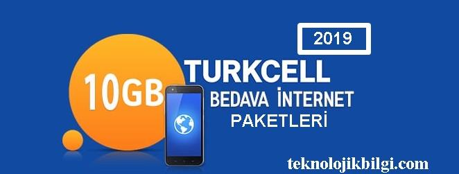 Türkcell Bedava İnternet