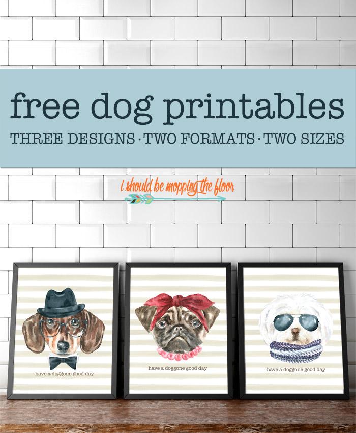 Dog Printable