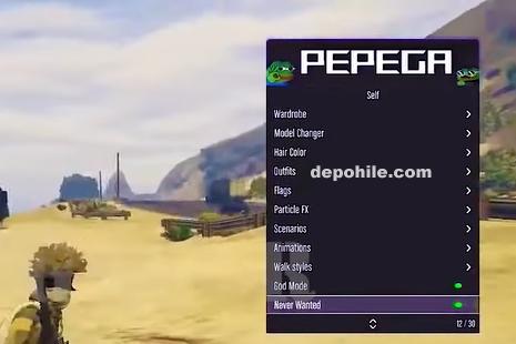 GTA 5 Online 1.54 Pepega Menu Çalışan Hile Modu 2021