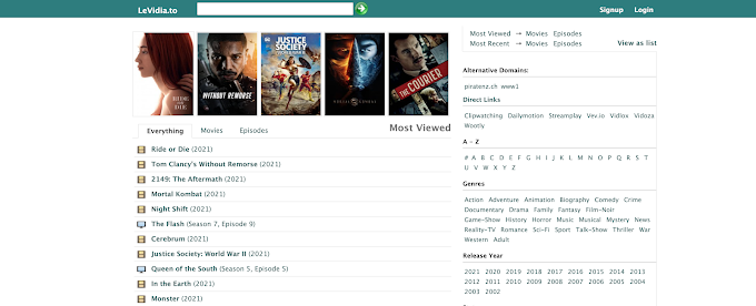 Levidia Ch 2021 – Download Latest Movies and Web Series for Free