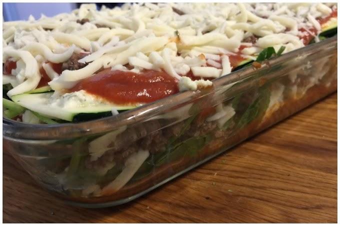 Easy Zucchini Lasagna Recipe #healthyrecipe #zucchini