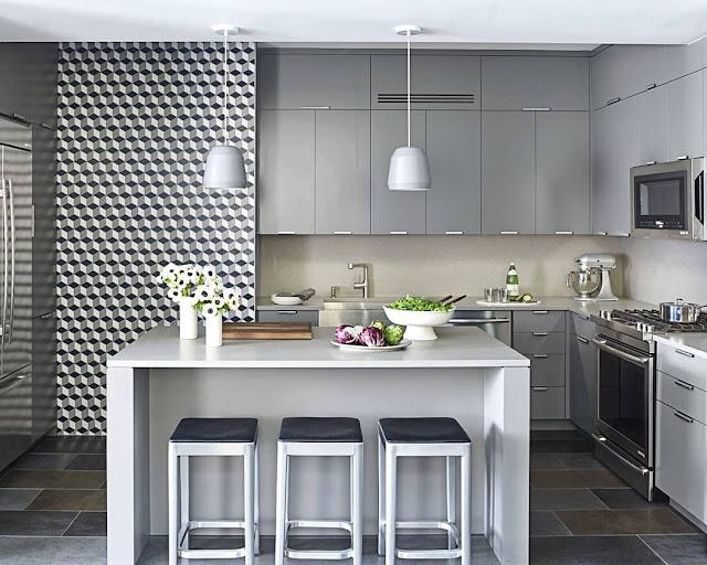 Salah satu yang menjadi tontonan orang dikala bertamu ialah dapur Desain Dapur Minimalis Modern