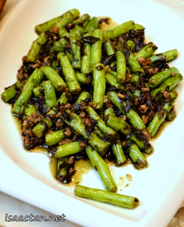 #10 Stir Fried French Bean with Pu Er - RM15.90