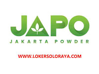 Loker Solo Sales Marketing Lulusan SMA SMK di PT Japo Indo Pangan